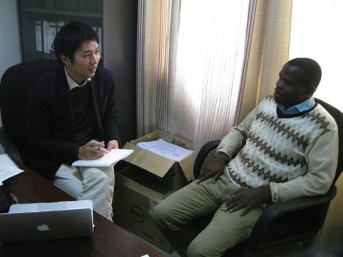 教員へのインタビュー